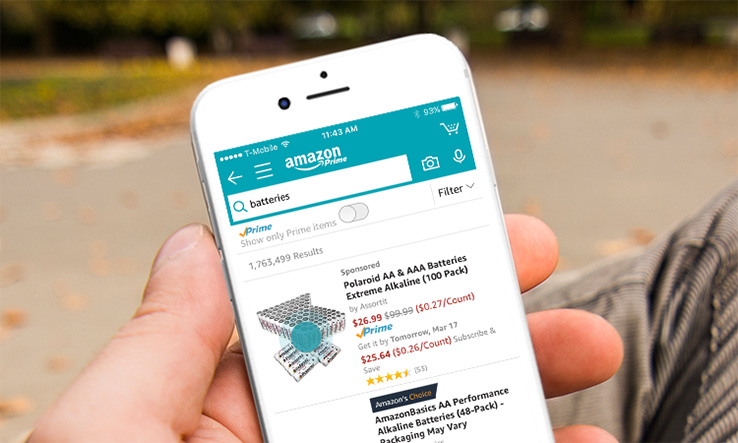 Shop with Alexa in the App