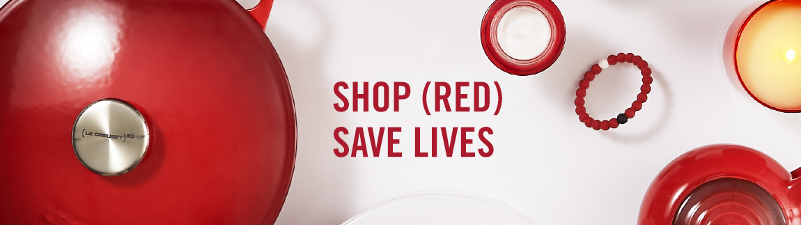 Shop (RED) Save Lives