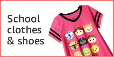 School clothes & shoes for girls
