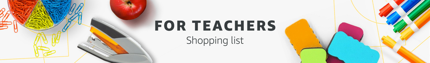 For Teachers Shopping List