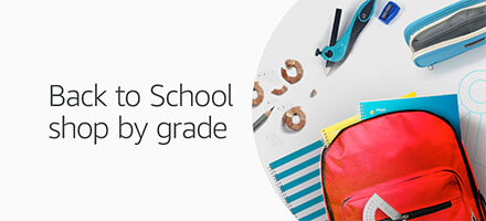 Back to school shop by grade