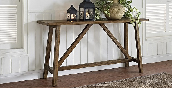 Living Room Sofa Console Tables