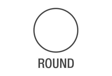 Perfect Round Shape Area Rugs