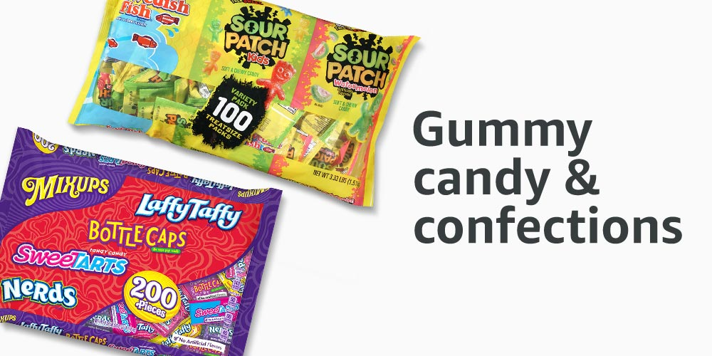 Gummy candy & confections
