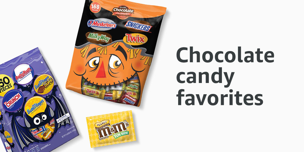Chocolate candy favorites