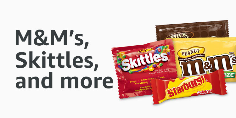 M&M's Skittles, and more