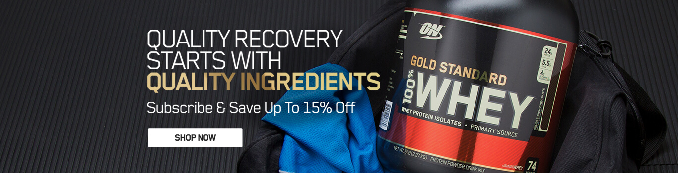 Save on Gold Standard Whey