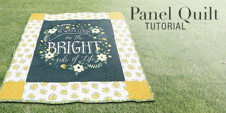 Panel Quilt Tutorial