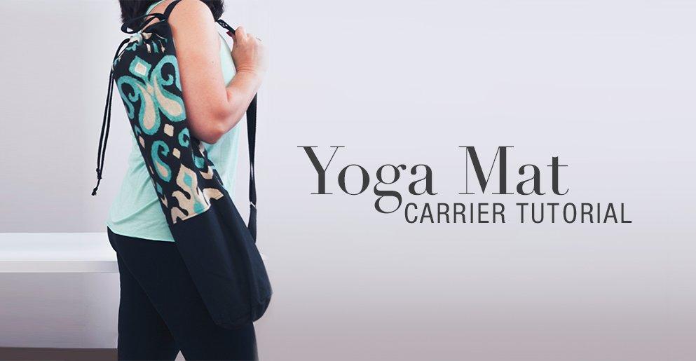 Yoga Mat Carrier Tutorial