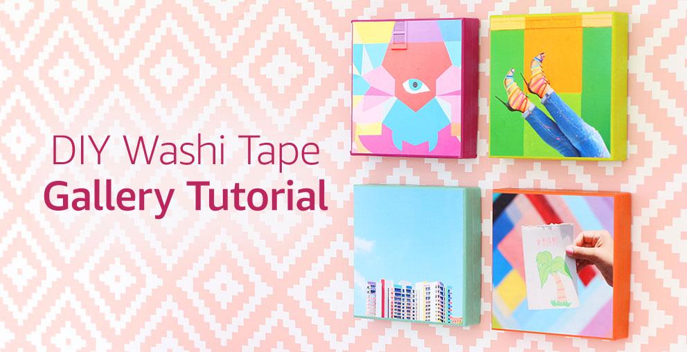DIY Washi Tape Gallery
