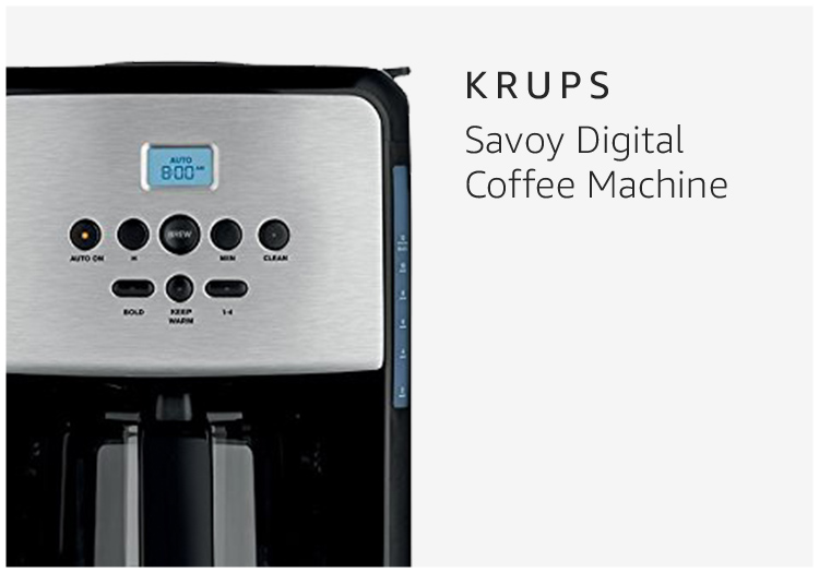 Krups Savoy Digital Coffee Machine