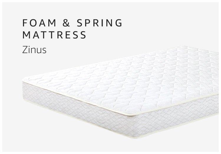 Foam & Spring Mattress Zinus