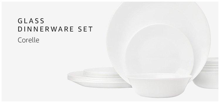Glass Dinnerware Set Corelle