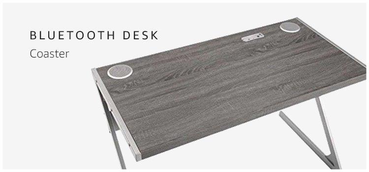 Coaster Bluetooth Desk