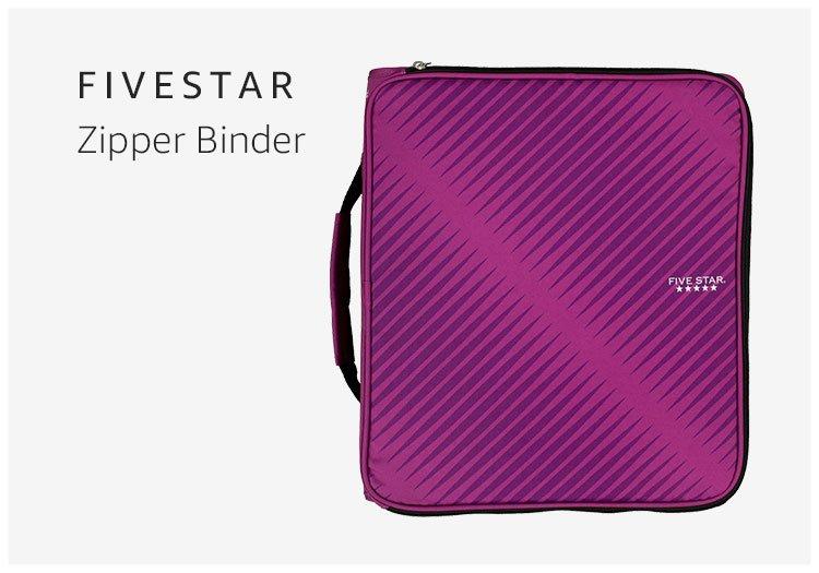Five Star Zipper Binder