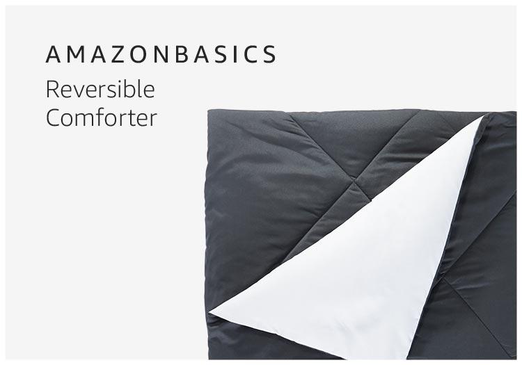 AmazonBasics Reversible Comforter
