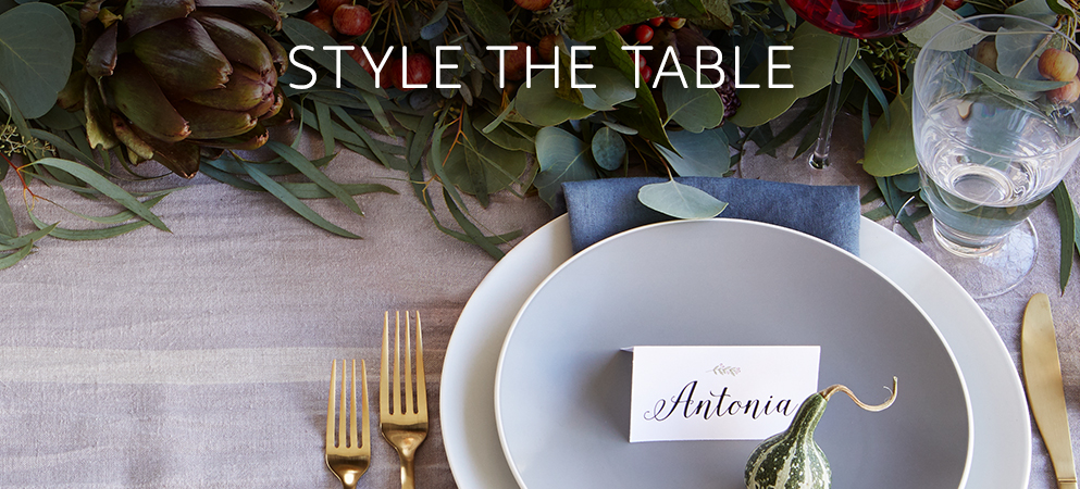 Style the table