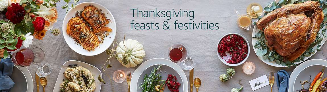Thanksgiving: feasts and festivities