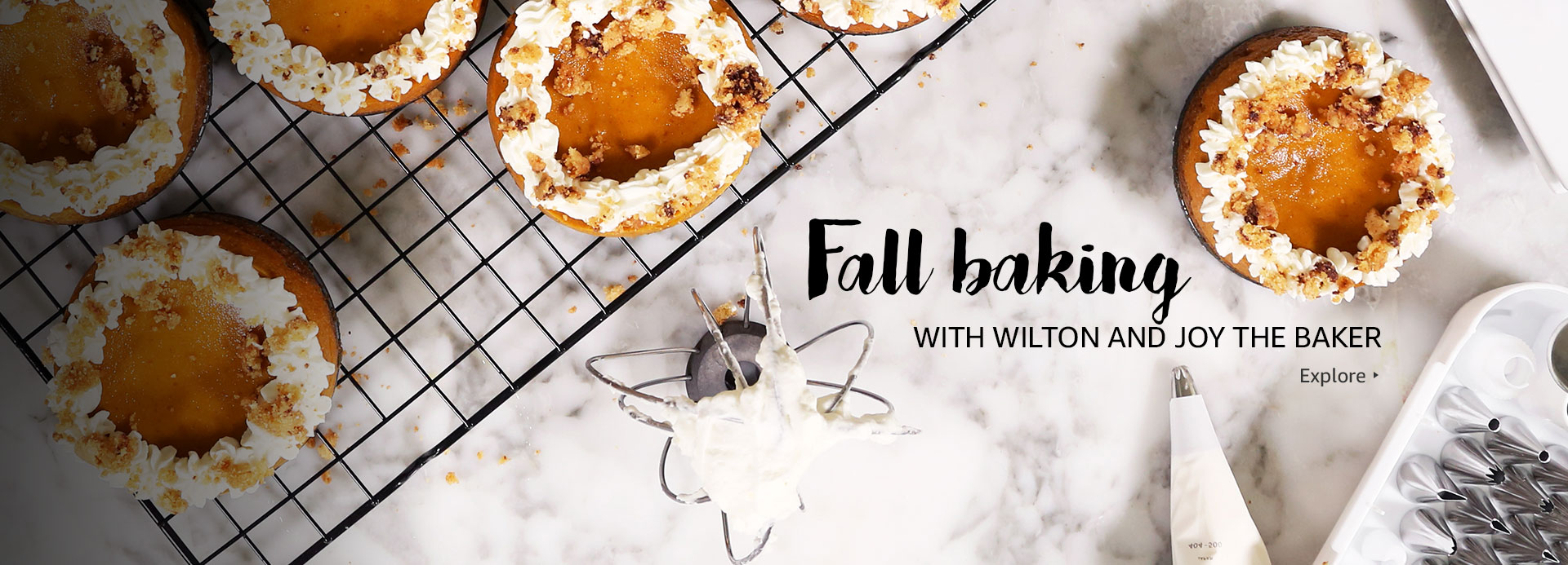 Fall baking with Wilton