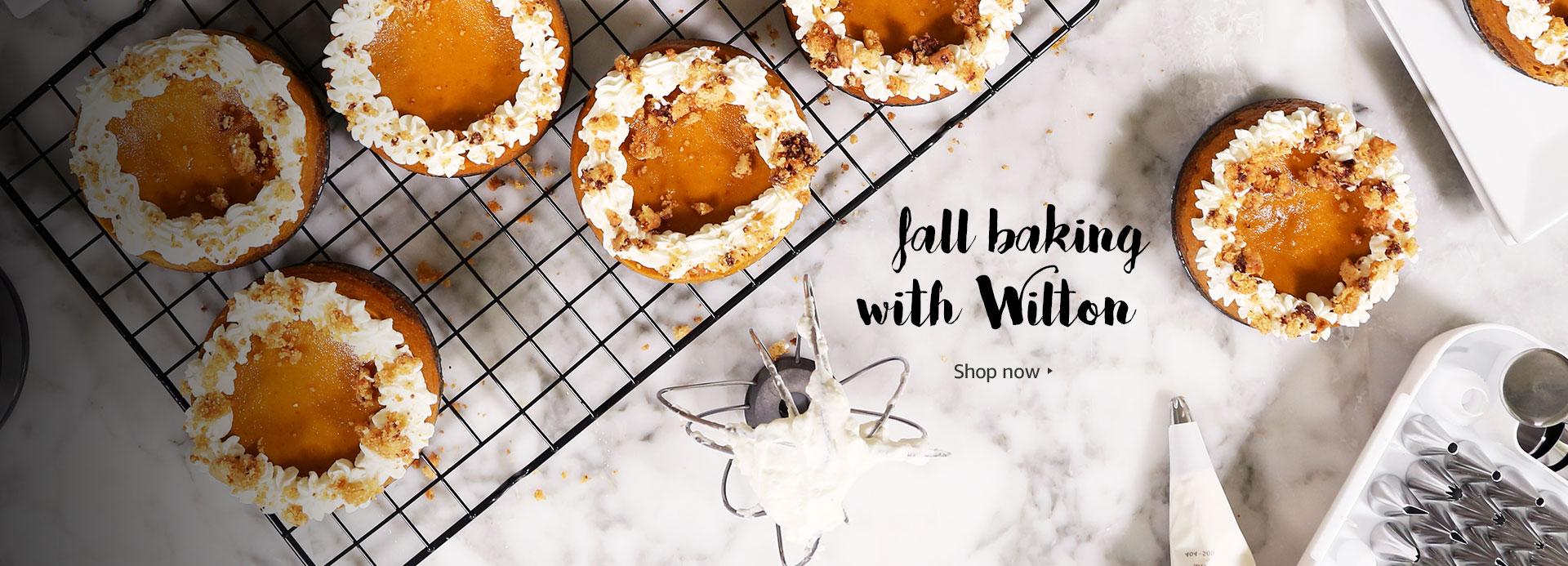 Fall baking with Wilton