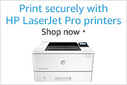 Print securely with HP LaserJet Pro printers