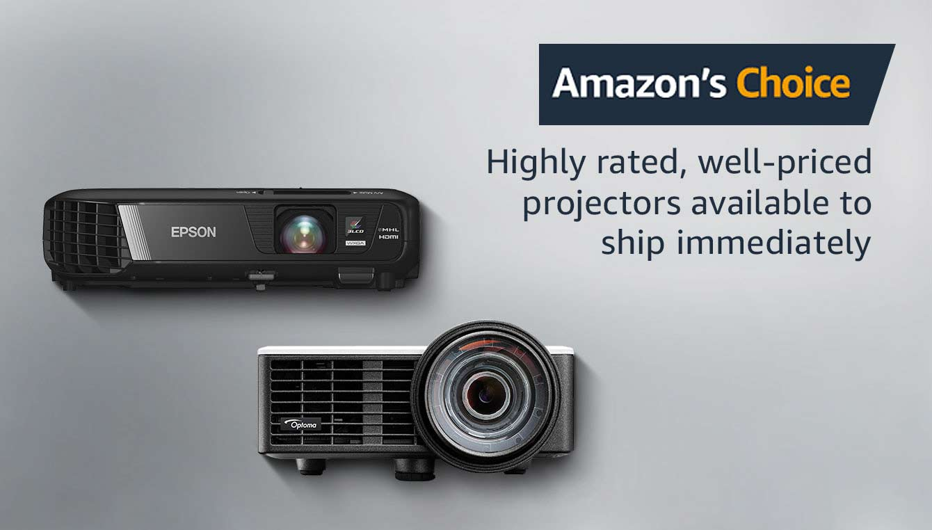 Amazon's Choice for Projectors