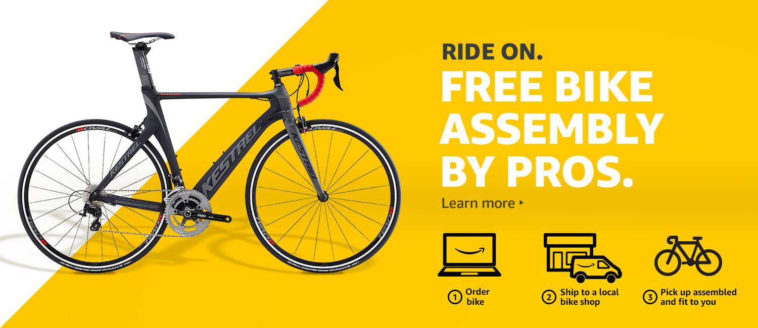 2017 National Bike Month Promo With Free Bike Assembly On Amazon