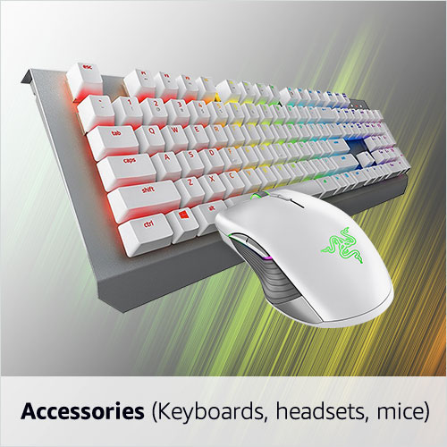 Accessories (Keyboards, headsets, mice)