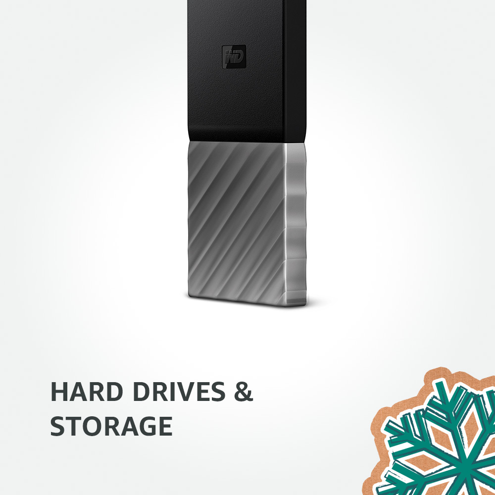 Hard Drives & Storage