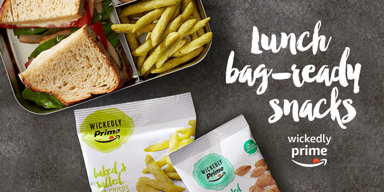 Lunch bag-ready snacks