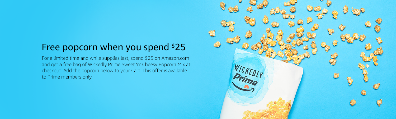Spend $25, get a free snack