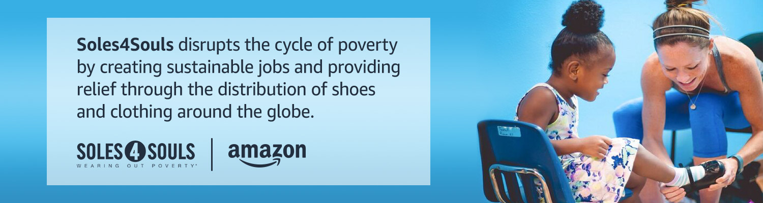 Soles4Souls disrupts the cycle of poverty by creating sustainable jobs and providing relief through the distribution of shoes and clothing around the globe.