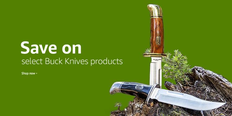 Save on Buck Knives