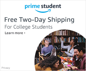 Prime Student - Free 2-day shipping for College Students