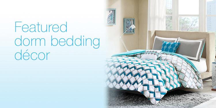 Featured Dorm Bedding Décor