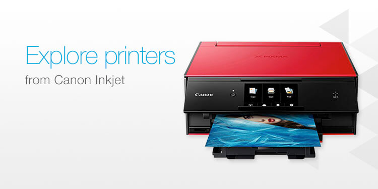 Explore printers from Canon Inkjet