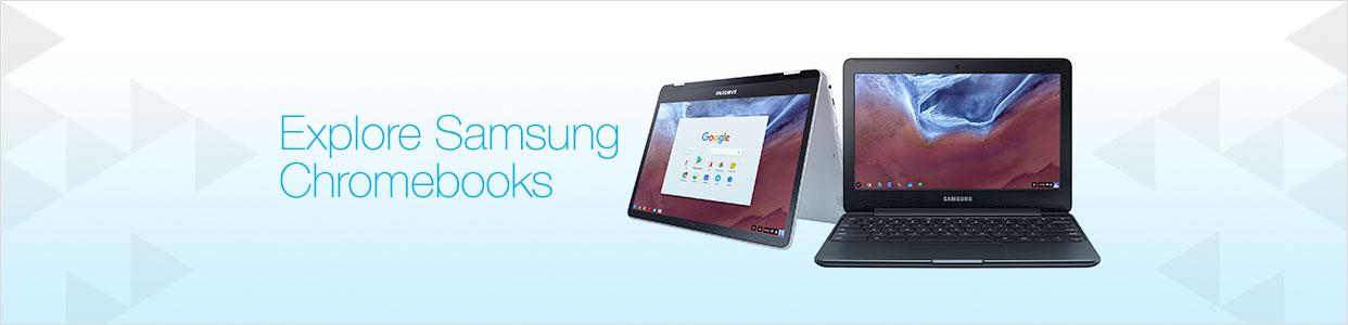 Explore Samsung Chromebooks