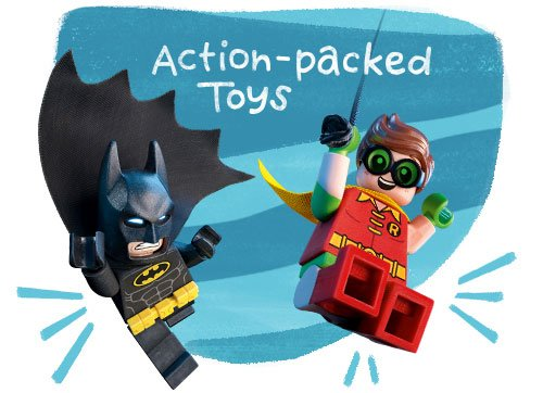Action-Packed Toys