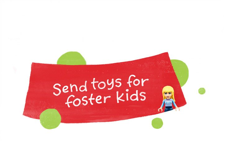 Send toys for foster kids