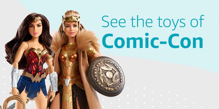 Shop the toys of Comic-Con