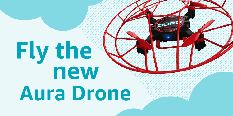 Fly the new Aura Drone