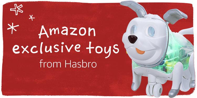 Amazon Exclusive toys from Hasbro
