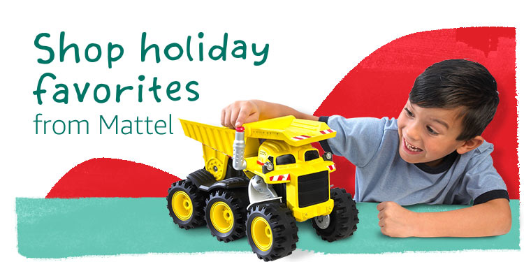 Shop Holiday Favorites from Mattel