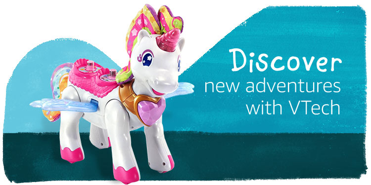 Discover new adventures with VTech