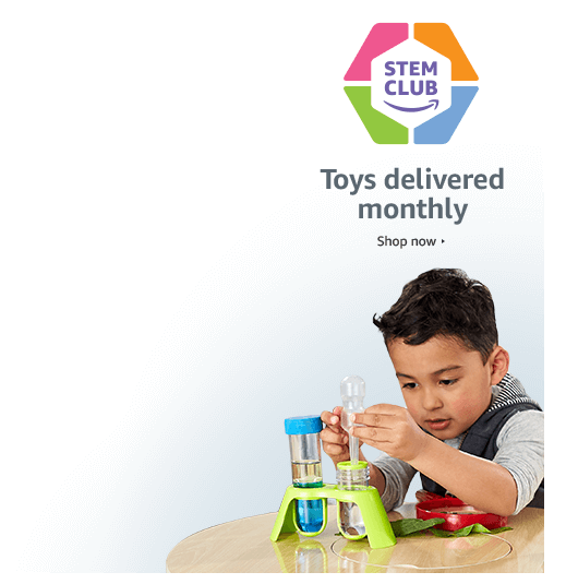 STEM Club - Toys delivered monthly. Shop now.