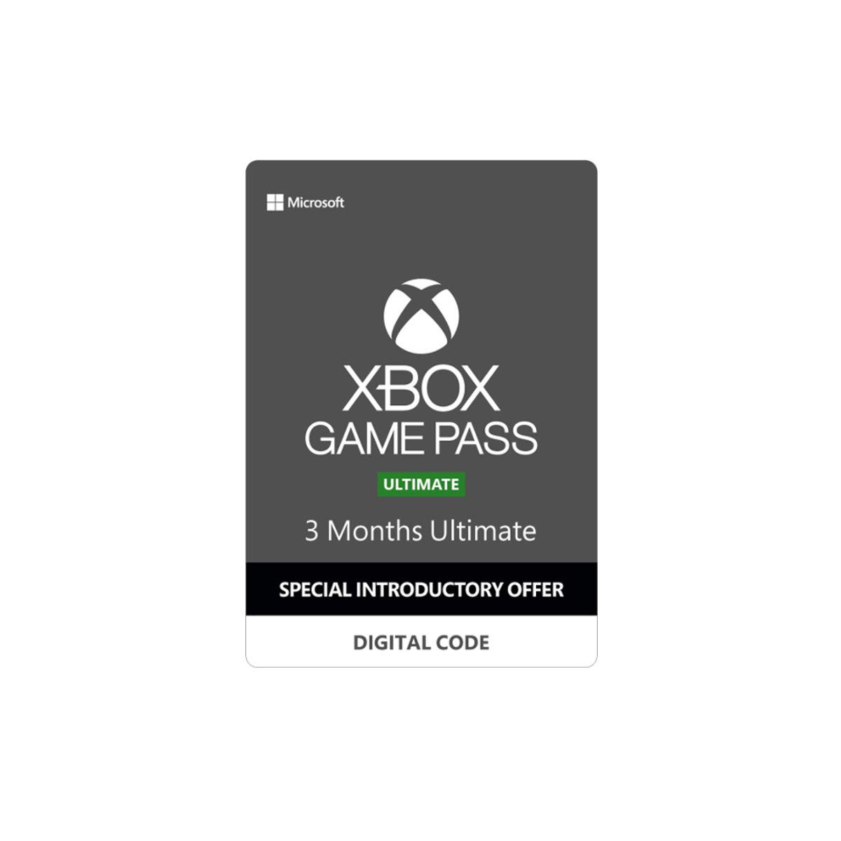 Xbox Game Pass Ultimate – 3 Months [Digital Code]