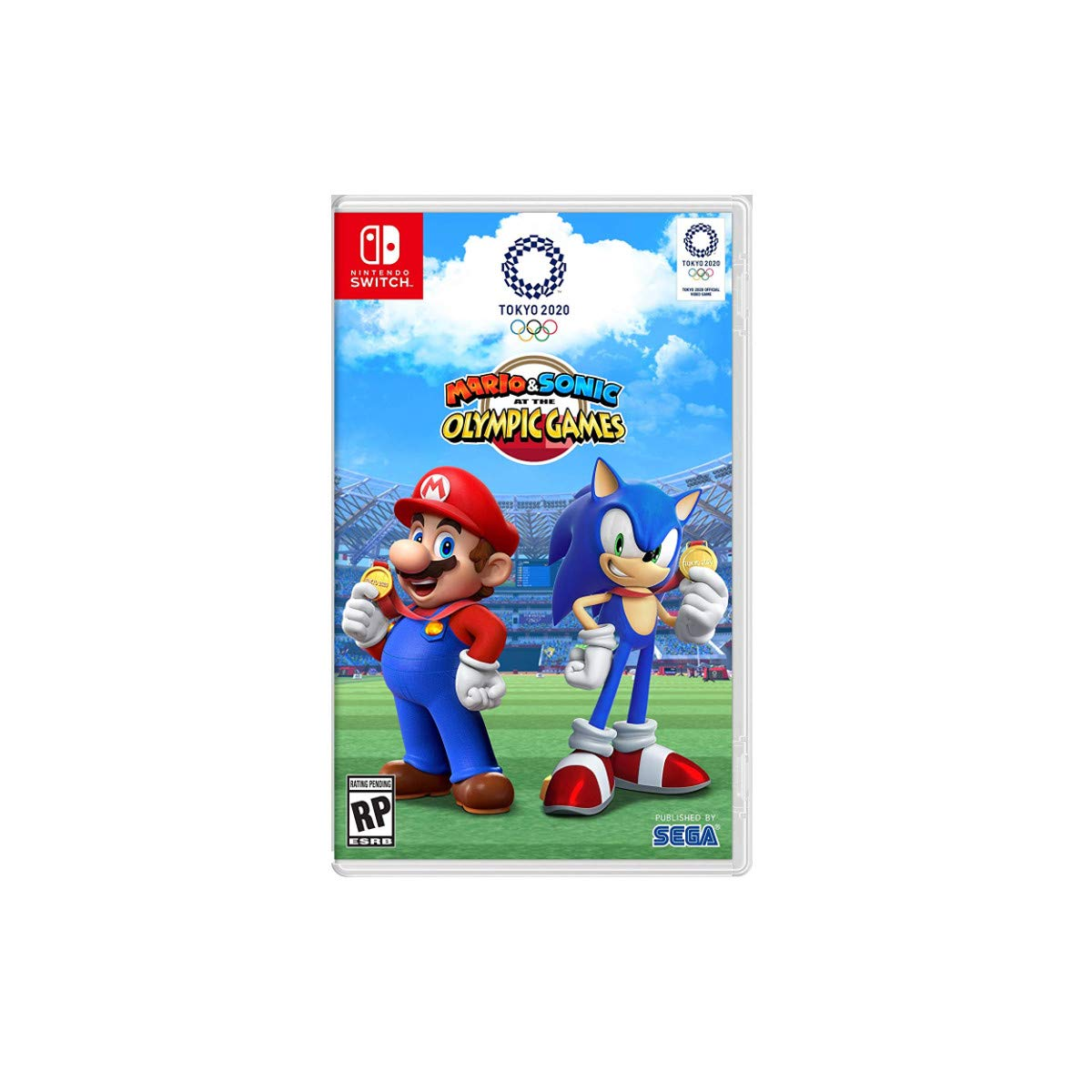 PlaceholderMario & Sonic at the Olympic Games: Tokyo 2020
