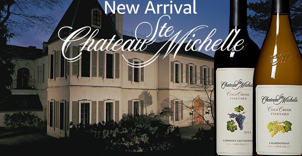 Amazon Wine: Chateau Ste Michelle