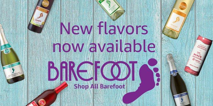 Amazon Wine & Champagne: Barefoot