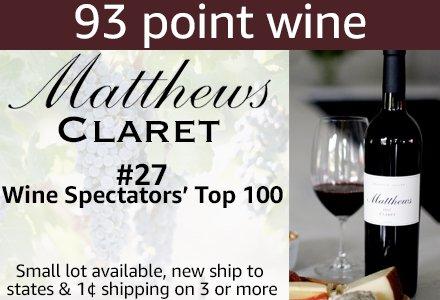 Amazon Wine: Matthews Claret